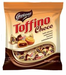 SOLID.TOFFINO CEKOL. CHOC. TOFFEE 80G TOR. BAG(20)
