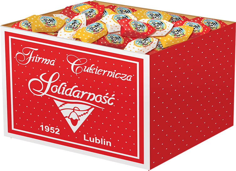 SOLID.LUZ KROWKA/ MILK FUDGE LOOSE 3KG BOX
